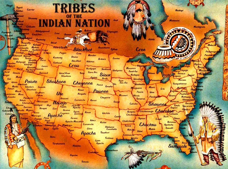 Native American Map Vietnam vet wins battle